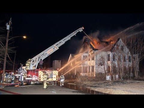Richards Pl. 2nd Alarm Fire (West Haven, CT) 2/8/19