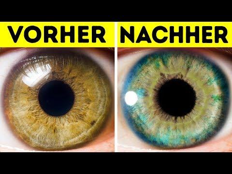 7 Dinge, Die Deine Augenfarbe Verändern Kann