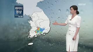 5시뉴스 강아랑기상캐스터 200606