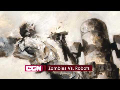 Зомби против роботов - CGN новости 12.01.2015 13:00