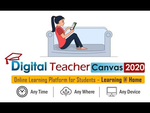 Canvas Digital Teacher Canvas 2020