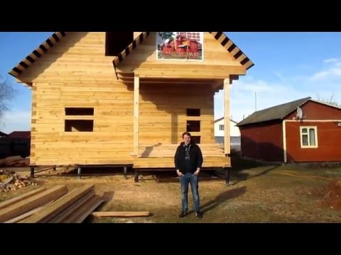 Видео-отзыв — дом из бруса 9х7 ДБ 90, МО, г. Волоколамск