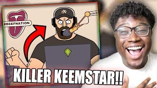 KEEMSTAR DISSES TEAM 10! | Vanoss Gaming Animated: Team 6 - Toobcon Reaction!