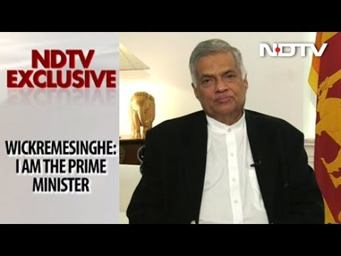 NDTV Exclusive: Sri Lanka's 'Deposed' PM Speaks Out