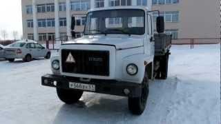 Обзор грузового  автомобиля ГАЗ 3307 2005 года..mp4