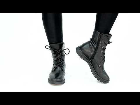 Miz Mooz Dane Women's Combat Boot