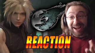 MAX REACTS: Final Fantasy 7 Remake Gameplay Trailer(Reaction)