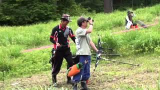 Archery 全日本フィールドアーチェリー選手権 男女決勝