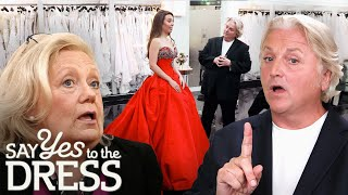 Bride with UNLIMITED Budget Wants a DRAMATIC Dress! | Say Yes To The Dress UK