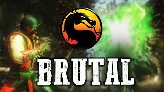 NO TALKING, ONLY BRUTALITY - Klassic Ermac Online: Mortal Kombat X