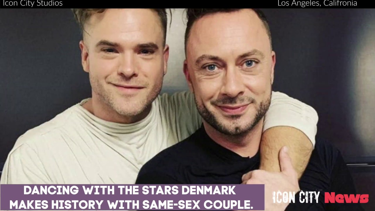 "Same-Sex Couple Makes History ""DWTS"""