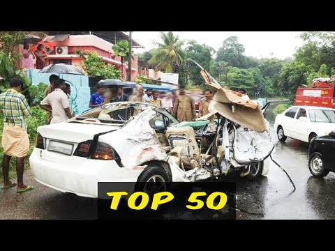 Top 50 Road Accident In India - Car - Crash Compilation - Traffic - CCTV - Camera - 2016 - 2017-2018