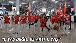 İstanbul Havalimanı nda çifte coşku 1 yaş değil 95 artı 1 yaş