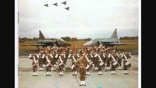 Flygvapnets Marscher Krigsflygskolan F5 (KS-Studio).wmv