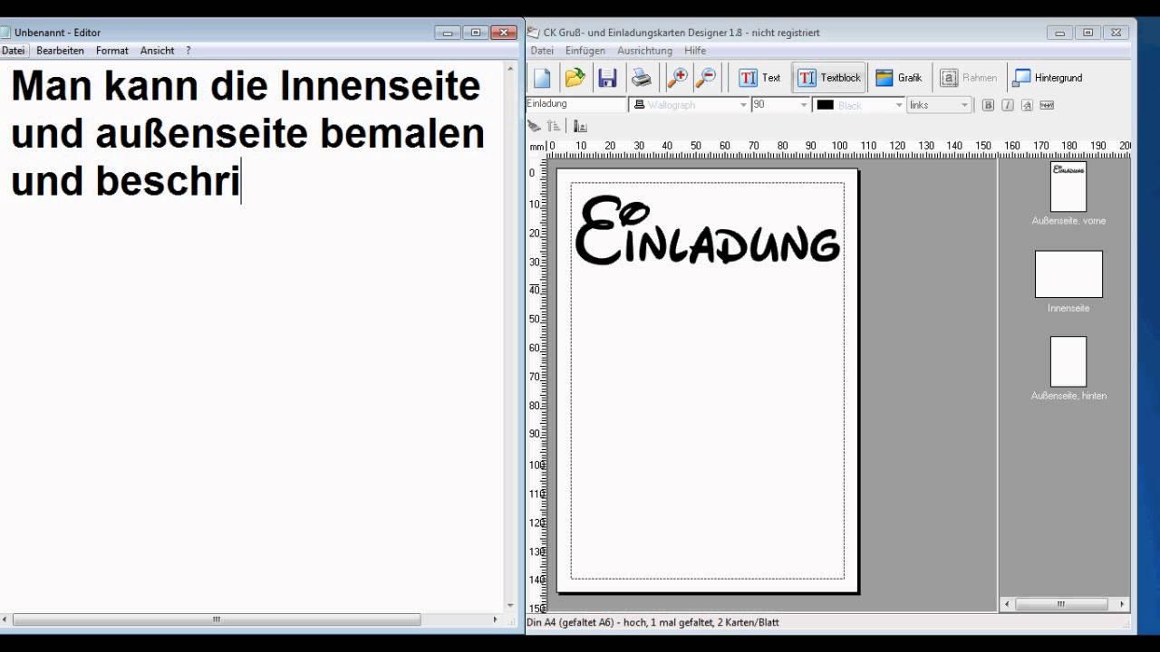 CK Gruß  Und Einladungskarten Designer Vorstellung