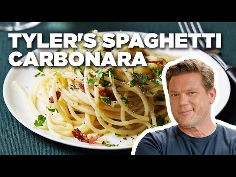 How to Make Tyler's Spaghetti Carbonara | Food Network