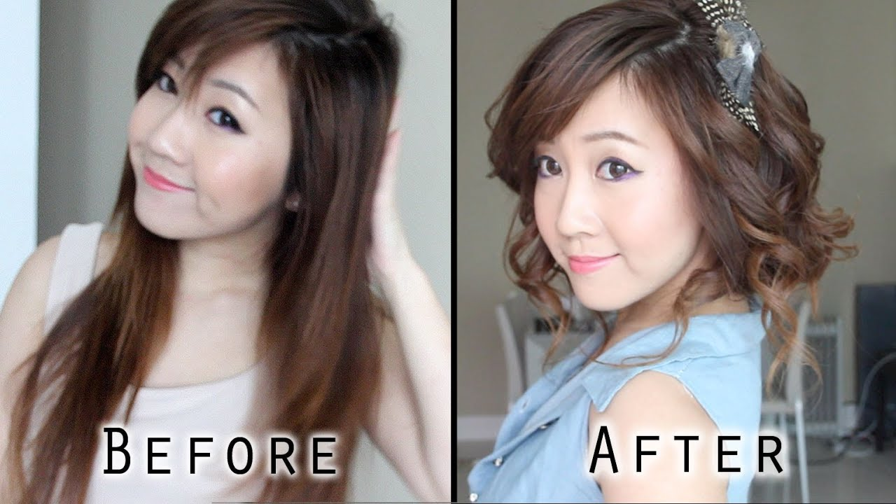 Fake Short Hair Cute Faux Bob Youtube