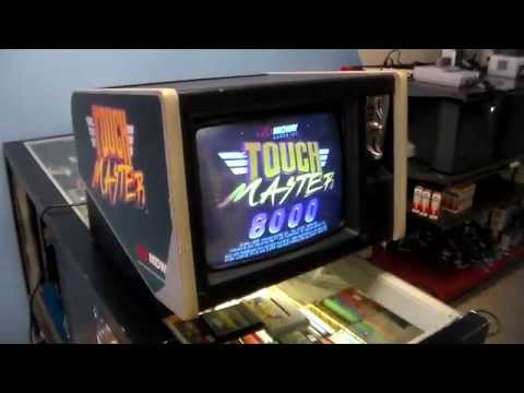 Midway's Touch Master Arcade Game!  Later Made Into A Nintendo DS Game - Overview, Cabinet Design