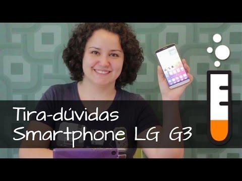 LG G3 D855 Smartphone - Vídeo Perguntas e respostas Brasil