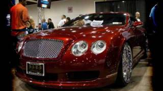 Ice T and Coco unveil Bentley at DUB Show
