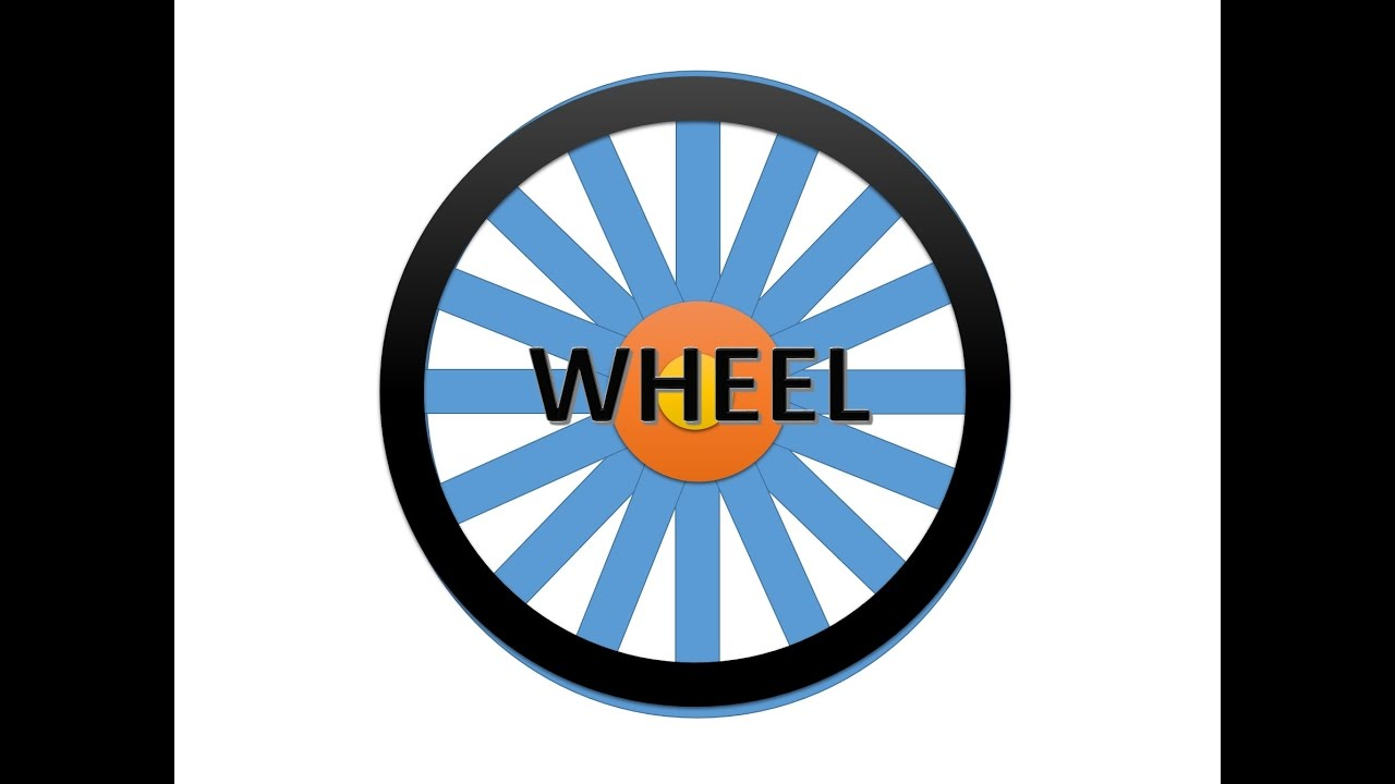 make wheel in powerpoint - youtube, Powerpoint templates