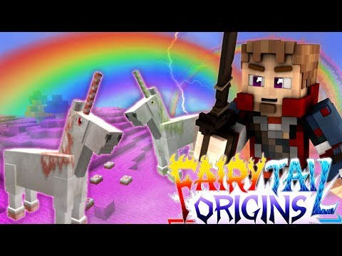 """Minecraft FAIRY TAIL ORIGINS #7 """"THE UNICORN REALM"""" (Minecraft Modded Roleplay) S3E7"""