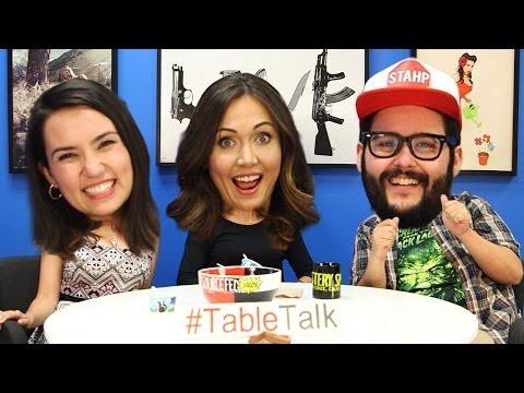 Jessica Chobot and Ice Cream on #TableTalk!
