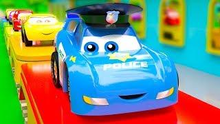 McQueen Cars Friends In Fire Trouble - Dangerous Jumps Part 2