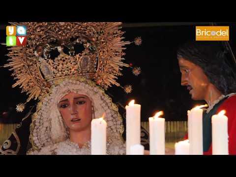 Salida Nuestra Señora del Mayor Dolor Semana Santa Algeciras 2019 Miércoles Santo
