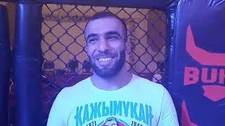 Камал Искендиров после победы на турнире Алаш прайд Туркестан
