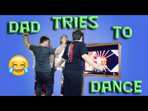 Dad tries to Dance / so funny (Daily#976)