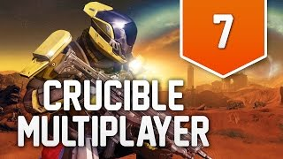 Destiny (PS4) - Live Crucible Multiplayer Gameplay #7 - AWESOME START!