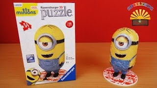 Minion Stuart 3D-Puzzle 11402 - Ravensburger -  Minions Bob Kevin Rätsel aufbauen