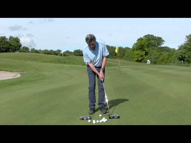 Golf Putting Distance control - Pelz method - Learn to control your speed when putting.