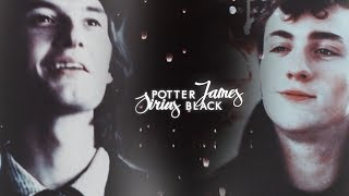 ● sirius black & james potter | brother