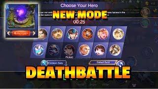 DEATHBATTLE - NEW GAME MODE WATCH MY FIRST GAME FEEDING 😅