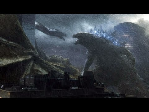 Download Godzilla vs Ghidorah, Mothra vs Rodan | Godzilla: King of the Monsters [4k, HDR]