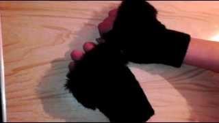 Женские перчатки с Aliexpress! Перчатки с мехом с али за 1,6 долларов! Жене понравилось!(, 2015-01-06T18:06:08.000Z)