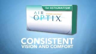 AIR OPTIX® for ASTIGMATISM