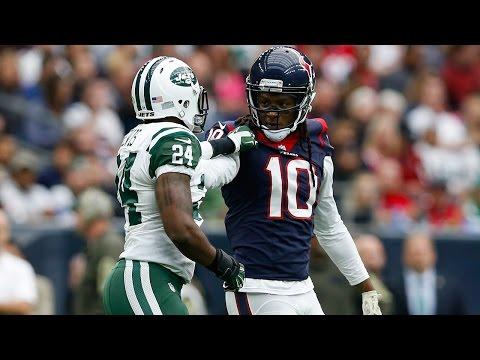 Hopkins & Revis Square Off | Jets vs. Texans | NFL