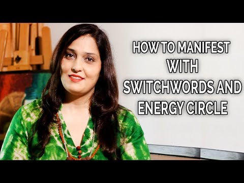 How to Manifest with Switchwords and Energy Circle to Improve Your Income | Divyaa Pandit