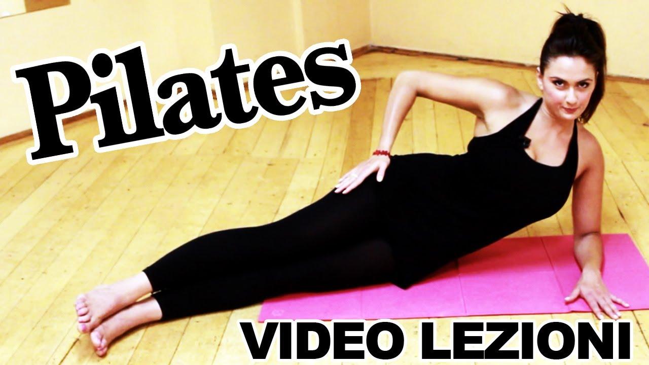Bien-aimé Pilates: esercizi per allenamento completo per dimagrire, lezioni  IN48