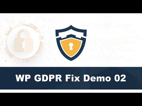 WP GDPR Fix Training