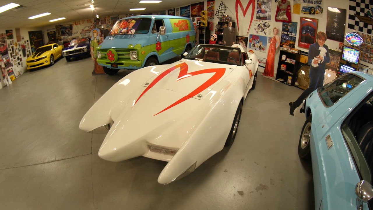 Hollywood car minute speed racers mach 5