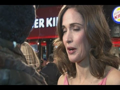 Stars shiver on I Give It A Year red carpet