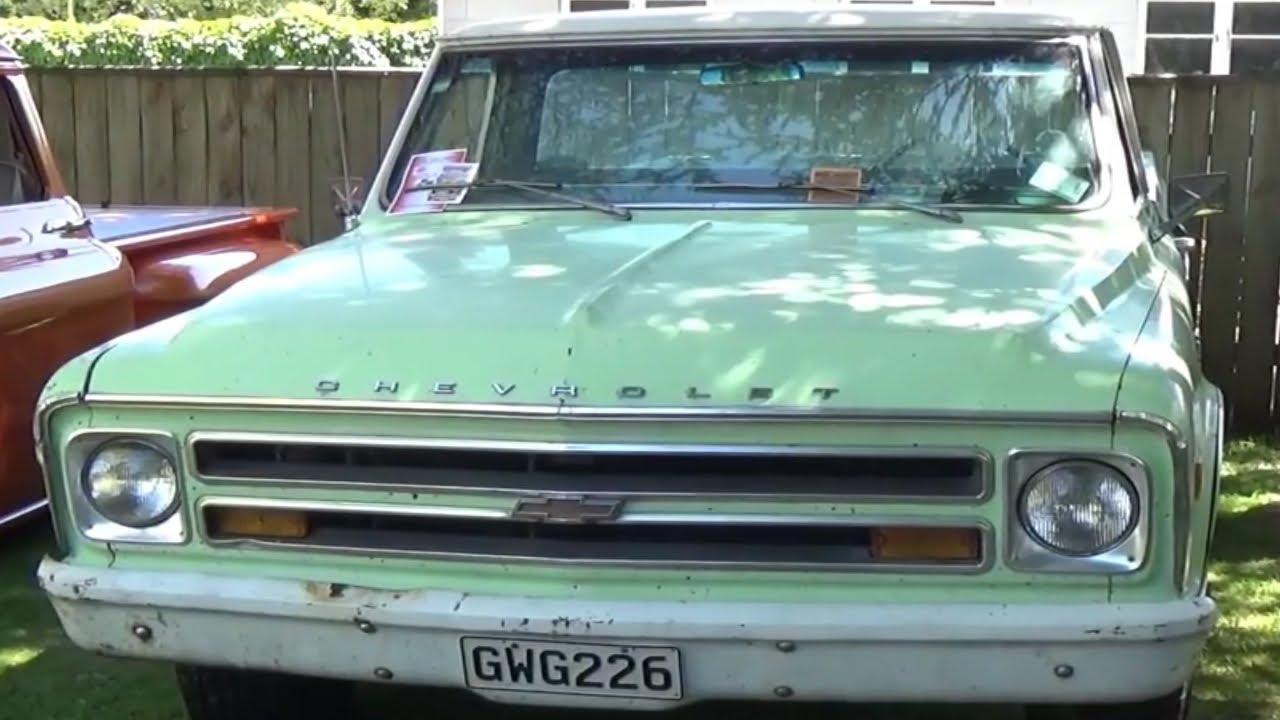 1968 Chevrolet Custom 20 Youtube Chevy Truck 50th Anniversary