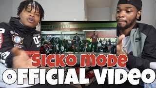 Travis Scott - SICKO MODE ft. Drake - OFFICIAL VIDEO (REACTION)