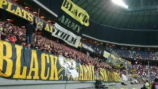 AIK-klacken (AIK - Kalmar FF 1-0)