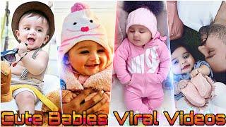Cute Babies 😍 Shararati & Lovely Tiktok Videos| Cute Babus Video | Tiktok Ki Dunia
