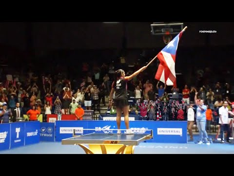 Adriana Diaz (PUR) Vs Mo Zhang (CAN) [FINAL] ITTF Pan America Cup 2019
